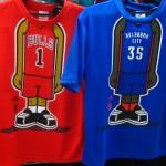 NBA オールスター2014投票上位の人気選手多数入荷!キャラクターTシャツのご紹介♪