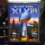 NFL 第48回スーパーボウル キックオフまであと僅か!! 当店では恒例のプログラムが入荷☆