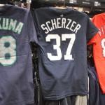 MLBプレーヤーTシャツ 新選手続々入荷!フィルダー選手や岩隈投手など多数入りました