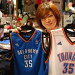 NBA 2013-14シーズンのシーズンMVPに選出されたケビン・デュラント選手!!レプリカユニフォームご紹介!!