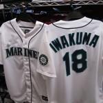 マリナーズの背番号『18』!!岩隈投手のレプリカユニフォームが入荷致しました☆