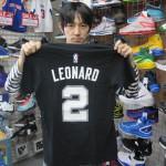 NBA 人気アイテムゲームタイムTシャツが大量入荷!カリーやレオナルドも☆