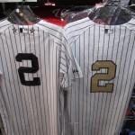ジーター選手の引退セレモニーが現地7日に決定❢❢この機会に、ユニフォームやTシャツを購入してみてはいかがでしょうか♪