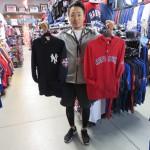 2014日米野球グッズ入荷!ジャパンオールスターシリーズパッチがついたフーディー、Tシャツが入荷です!