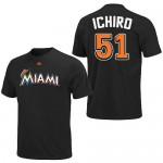 MLB マーリンズ イチロー選手 プレイヤーTシャツが予約開始しました!!
