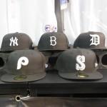 NEW ERAから MLB Cooperstown  BLACK×WHITE チームロゴキャップ ヤンキース・ドジャース・マリナーズなどが新入荷しました☆