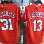 MLBプレイヤーTシャツが新入荷!!シャーザー、ケンプ、ハミルトン、ウォーカーなどなど
