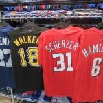 MLB ネーム&ナンバー Tシャツ!!新作グッズのご案内です!