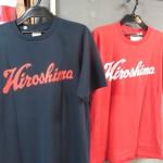 カープ坊や刺繍風Tシャツに、HiroshimaTシャツなどなど!カープグッズが新入荷!!新作Tシャツのご案内です!