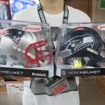 NFLの大人気チーム!!Seahawks,Patriotsのレプリカミニチュアヘルメットが再入荷!!