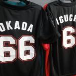 千葉ロッテ 2015 NEW 背番号Tシャツ・レプリカユニフォーム ホーム&ビジター グッズが再入荷致しました(^^)