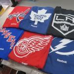 NHLのロゴTシャツとネーム & ナンバーTシャツが入荷しました☆