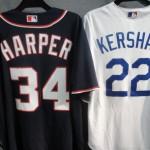 MLB人気選手のユニフォームが緊急入荷!!マカッチェン、ハーパー、スタントン、カーショウ