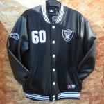 NFL レイダースファン必見!!Majestic(マジェスティック)社製、「Letterman」「Ottoman 」ジャケットが新入荷しました。