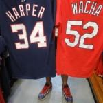 MLBプレイヤーTシャツが大量入荷!!ワカ、ハーパー、カーショー、ペンス、パニックなどなど
