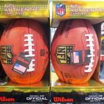 NFL☆オフィシャルボールが入荷しました!!╭(๑•̀ㅂ•́)و