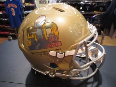 NFL スーパーボウル50周年記念ヘルメットのご紹介です☆
