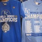 MLB ワールドシリーズ 2015!!ロイヤルズの記念Tシャツが入荷いたしました!