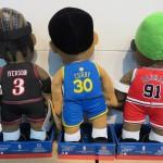 NBAからメチャカワなプレイヤーフィギュアが入荷!!手のひらより少し大きいくらいで和みます。