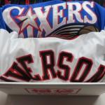 NBA アレン・アイバーソンのユニフォーム福袋が緊急販売!!オーセンティックユニフォームが必ず入っています(゚д゚)!!
