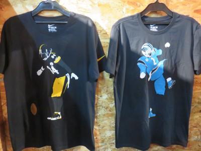 Nike NFLより、リーグを代表する人気選手のシルエットをあしらったTシャツが新登場!!