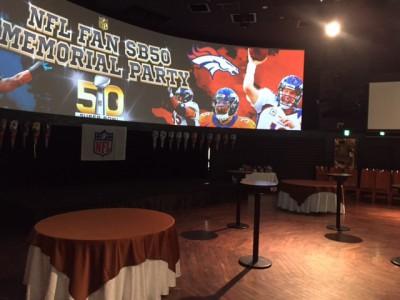 NFLスーパーボウル50週年記念イベントに参加してきました♪チアの堀池さん、安田さん、亀村さんも駆けつけました!!