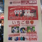 【3月キャンペーン】春だ!!イチゴだ!!イチゴにちなんで15,000円セール開催中!!