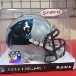 NFL ミニレプリカヘルメット再入荷!パンサーズスピードタイプも新入荷しました!!