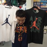夏が来る!ジョーダンTシャツなどアイテムがたくさん入荷してきてますよ!CP3のTシャツも新入荷!!