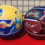 NBA大人気選手&チームボールが入荷しました!ステファン・カリー選手・レブロン・ジェームズ選手のデザインボールをお見逃しなく!!