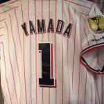 【速報】ヤクルトスワローズ2015年優勝記念パッチ付きユニフォームが入荷しました!!Σヽ(`д´;)ノ