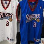 NBA 76ers アレン・アイバーソン選手のオーセンティックユニフォームが入荷しました!