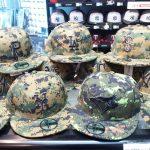 今月の最終月曜日は戦没将兵追悼記念日(メモリアルデー)!軍の制服を模した「デジタルカモフラージュ柄」のキャップが入荷!