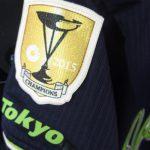 【速報】ヤクルトスワローズの優勝パッチ付きユニフォームのビジターも入荷しました!ε≡≡ヘ( ´Д`)ノ