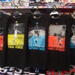 NBA 人気選手&伝説の選手のTシャツが入荷しました!!ロッドマン選手&ピッペン選手の黄金2ショットプリントからポール・ジョージ選手、ジェームス・ハーデン選手まで!!!