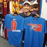 ファン必見!!ウェストブルック ユーイング NBAネーム&ナンバーTシャツが新入荷しました!!