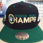 NBA歴代最多チャンピオンチームのキャップが入荷致しました!!ボストンファン必見です!!