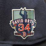 D.オルティス#34の引退記念キャップとボールが再入荷!!目指せW.S進出!!