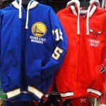 NBA これから大活躍間違いなし!!なジャケットが沢山入荷しています(^o^)人気のウォリアーズやブルズ、スパーズやニックスもあります!!
