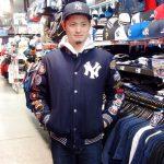 GⅢ新作ジャケットが入荷!ヤンキースとドジャースでどの服装にも合わせやすい!今冬オススメ!!