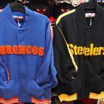 ミッチェル&ネスから昔のロゴタイプのフリースジャケットが登場!!この時期にぴったりな温かい商品ですよ♪