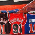 NBA オールドNBAファン、ファッションファンの方必見!レジェンド選手のソウルスウィングマンジャージが入荷しました~\(^o^)/ピストンズ時代のロッドマンもあります!!!