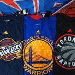 NBA チームロゴTシャツが新入荷!!大人気ウォリアーズやキャブズはもちろん、ラプターズやペイサーズまでいろいろあります!