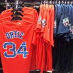 MLB レッドソックス デビット・オルティス選手引退記念パッチ付きプレイヤーTシャツ、レプリカユニフォーム が再入荷しました☆☆