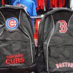 ボストン・レッドソックスとシカゴ・カブスのシンプルでカッコいいバックアップが新入荷です♪