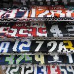 NFLのナンバーTシャツがたくさん再入荷しています!!!好きな選手のTシャツで夏もクールに過ごそう!!オススメをご紹介します~!!!