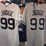皆様お待たせしました!ヤンキースの怪物アーロン・ジャッジ選手のグッズが入荷!大好評在庫残り僅かです!