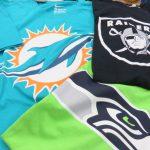 NFLファングッズの定番!チームロゴTシャツ種類豊富に取り揃えてます!!好きなデザインやチーム見つけてみてください!!