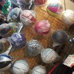 NBA セレクション新宿店にはボールもたくさん!!!!TACHIKARAやスポルディングなどプレーヤーさんにもデザイン買いにもオススメです!!