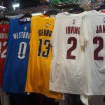 NBA 人気選手のゲームタイムTシャツが入荷!!ポール・ジョージやアイザイア・トーマスなど移籍選手のものは今のうちにGETしてください!!